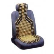 Масажор за автомобилна седалка - дървени топчета - 1бр.
