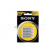 Батерия AAA/R03 1.5V zinc chlorid SONY - 1бр.