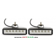 Дневни светлини 12-24V/18W - 150x37mm - к-т
