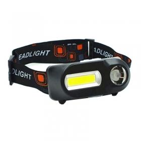 Прожектор за глава - челник акумулаторен с три режима на работа