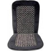 Масажор за автомобилна седалка - плюш + дървени топчета - 1бр.